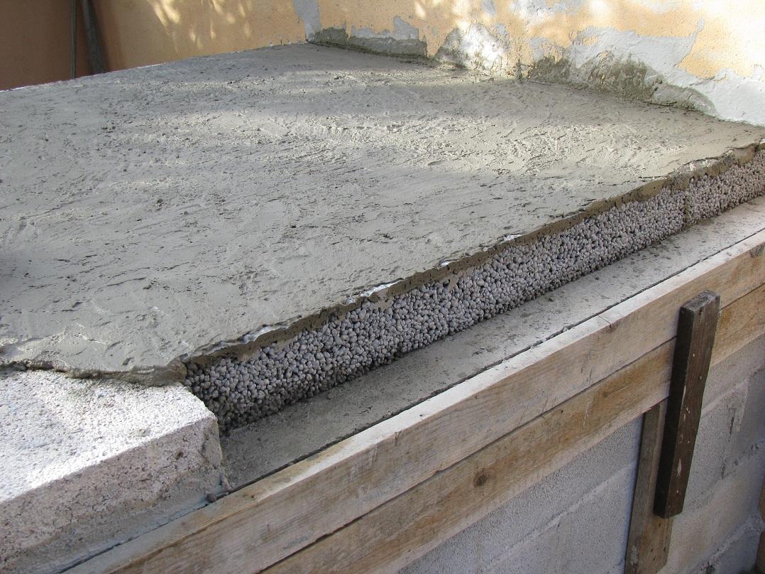 Impasto cemento e argilla espansa confortevole soggiorno - Massetto tradizionale ...