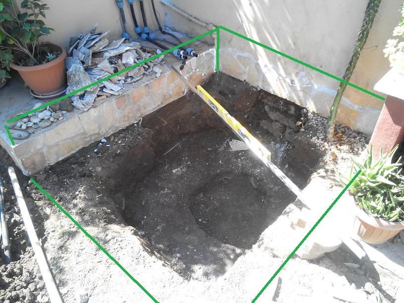 Laghetto In Cemento Fai Da Te.Il Laghetto In Cemento By Robgt Work In Progress